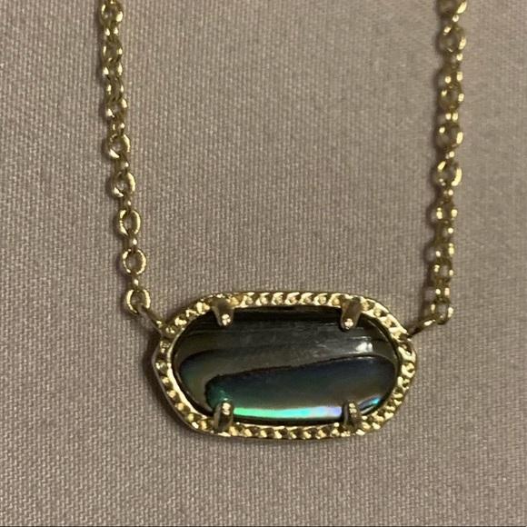 ec97b5d05227cf Kendra Scott Jewelry | Elisa Necklace Gold Abalone Shell | Poshmark